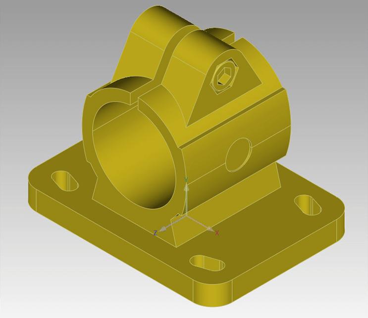 Figure 2: 3D Solid Model (CAD)