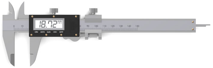 Caliper - An outdated o-rings measuring method