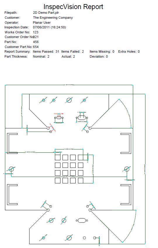 Figure 9: Sheet Metal Inspection Diagram