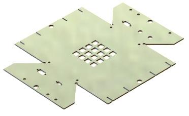 Figure 7: Sheet Metal part used in measurement