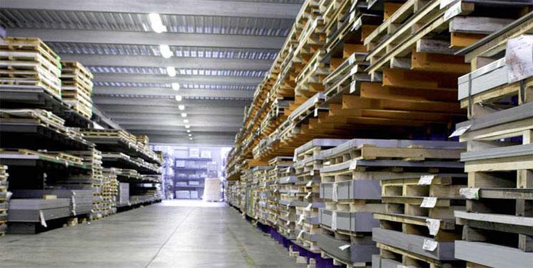 Figure 2: Verona Lamiere sheet metal warehouse